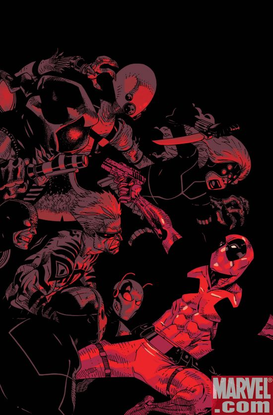 Deadpool_08_Cover Deadpool and Thunderbolts Collide in Magnum Opus Crossover