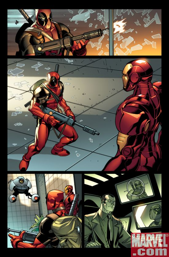 Deadpool_08_Preview2 Deadpool and Thunderbolts Collide in Magnum Opus Crossover