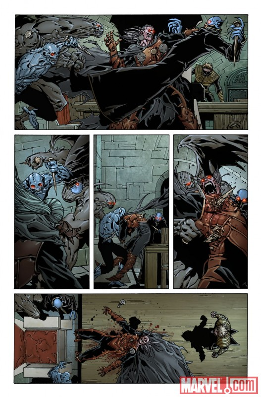 DeathofDracula_01_Preview5 First Look At DEATH OF DRACULA