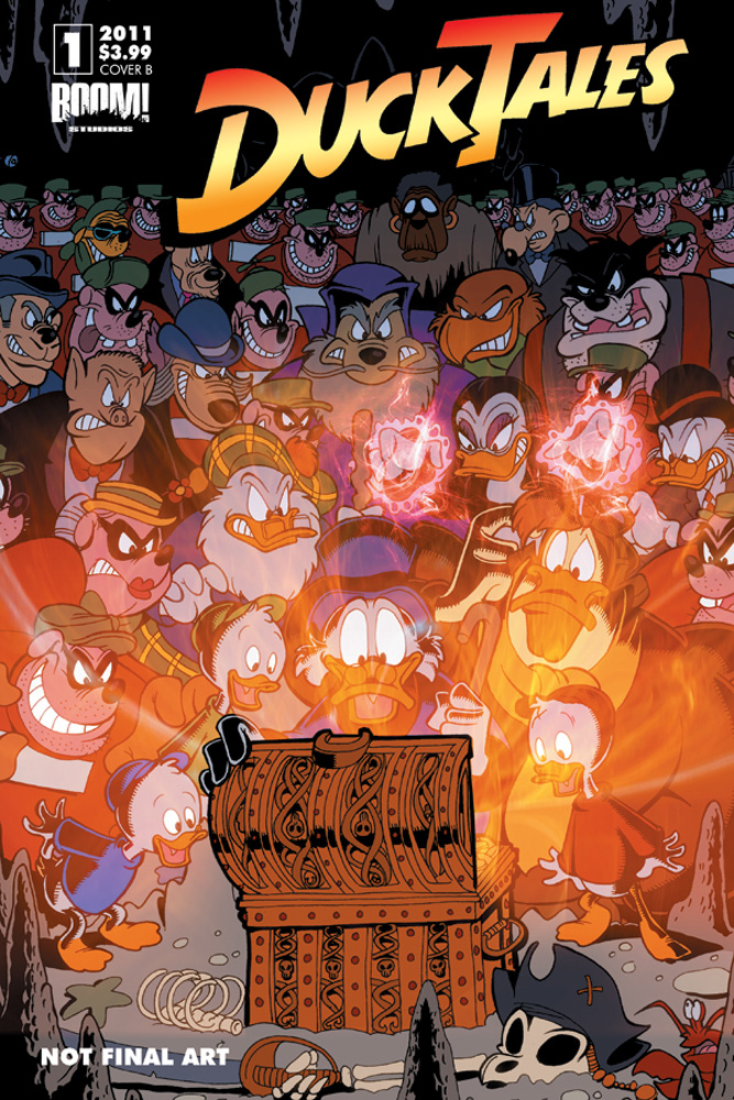DuckTales_01_CVR_B The Disney Afternoon Revolution continues with DUCKTALES