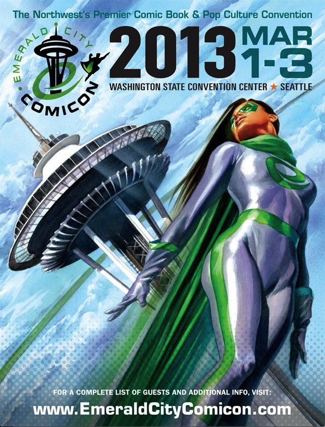 ECCC2013 Dark Horse Emerald City Comicon 2013 signing and events schedule