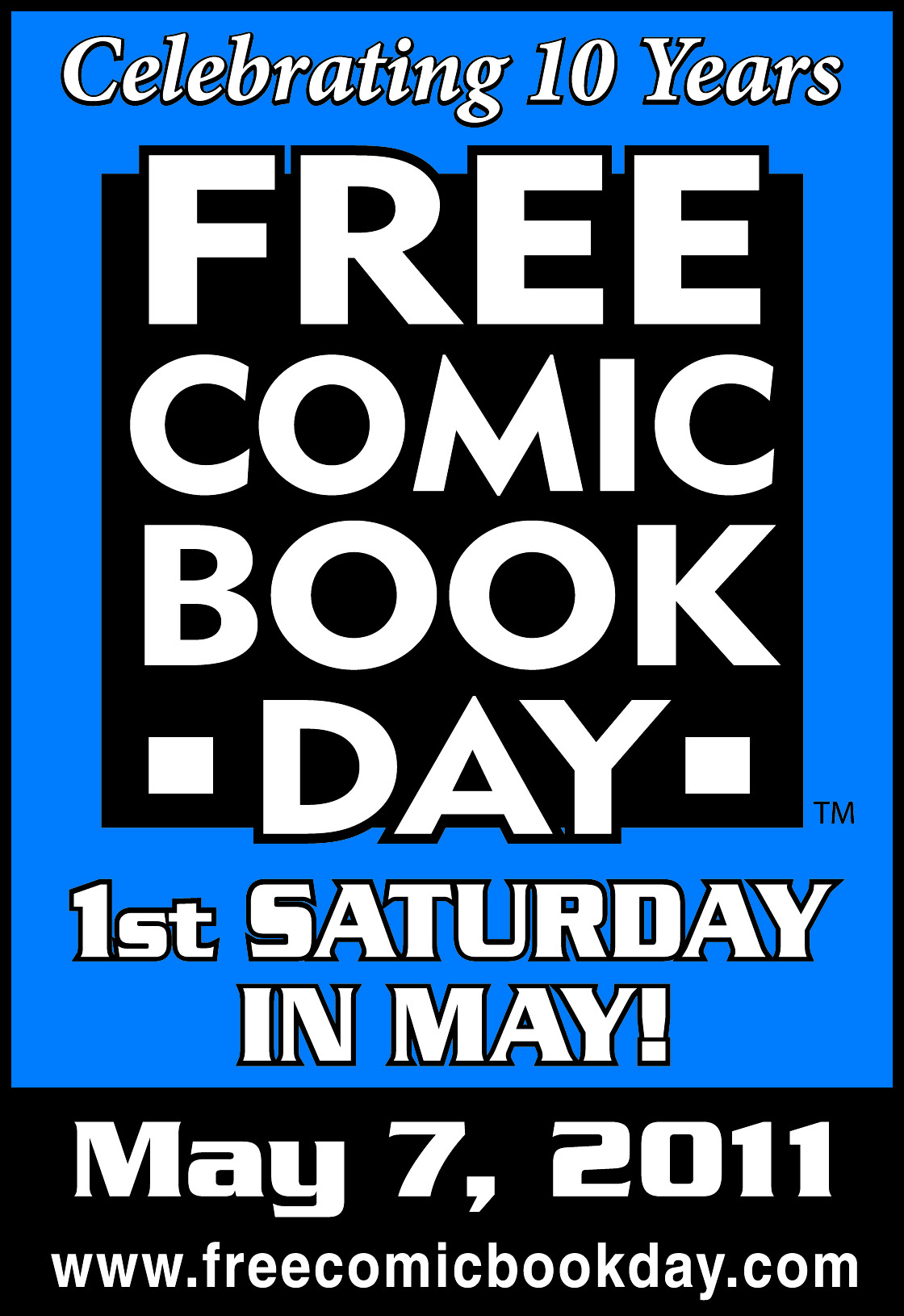 FCBD11withdate Full Free Comic Book Day 2011 line-up announced