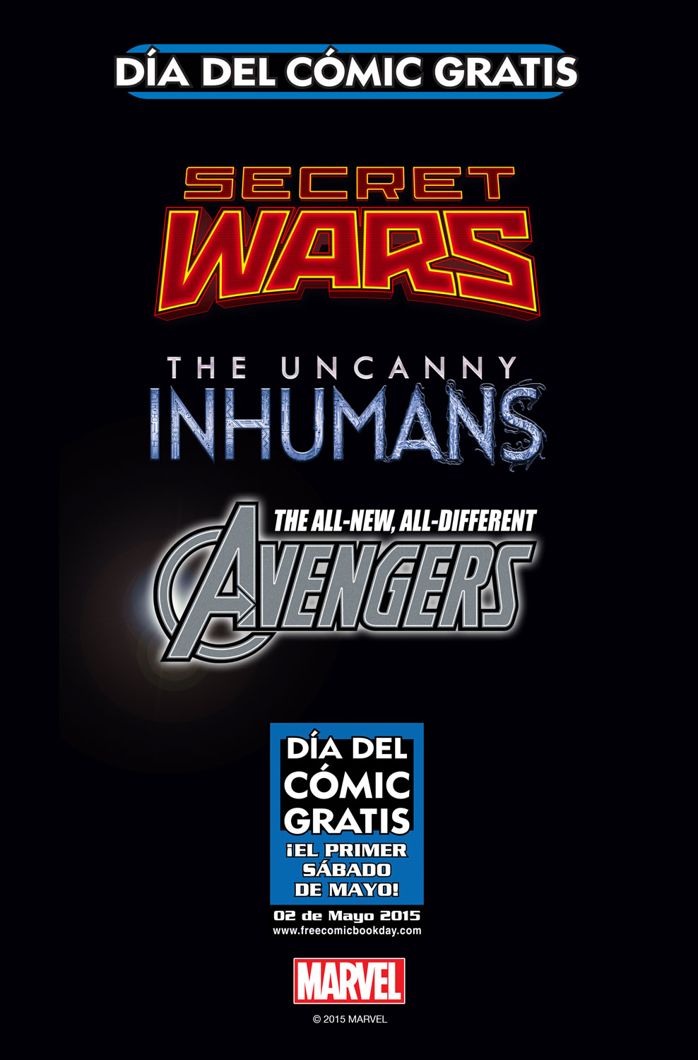 FCBD_2015_Spanish_Edition_NOT_FINAL Marvel issues Free Comic Book Day stories in Spanish