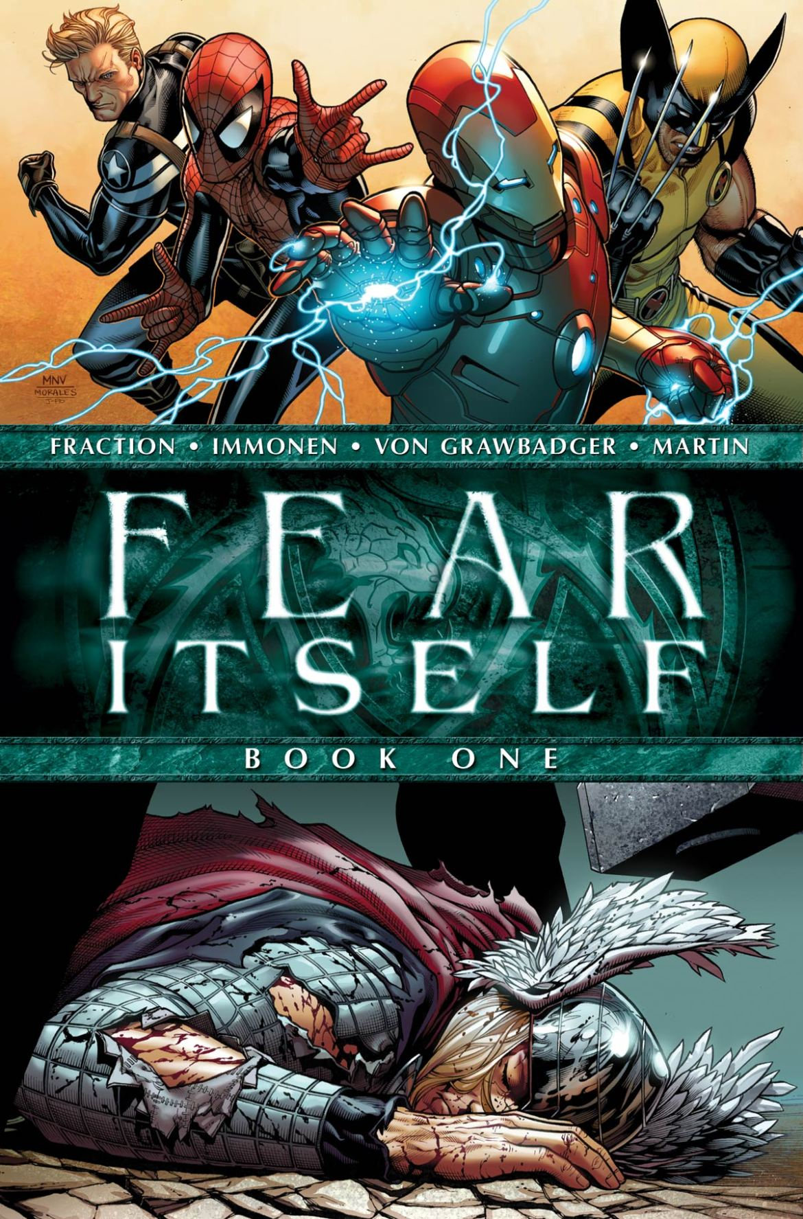 FEARITSELF_1_COVER Marvel Unveils Steve McNiven's Cover To FEAR ITSELF #1