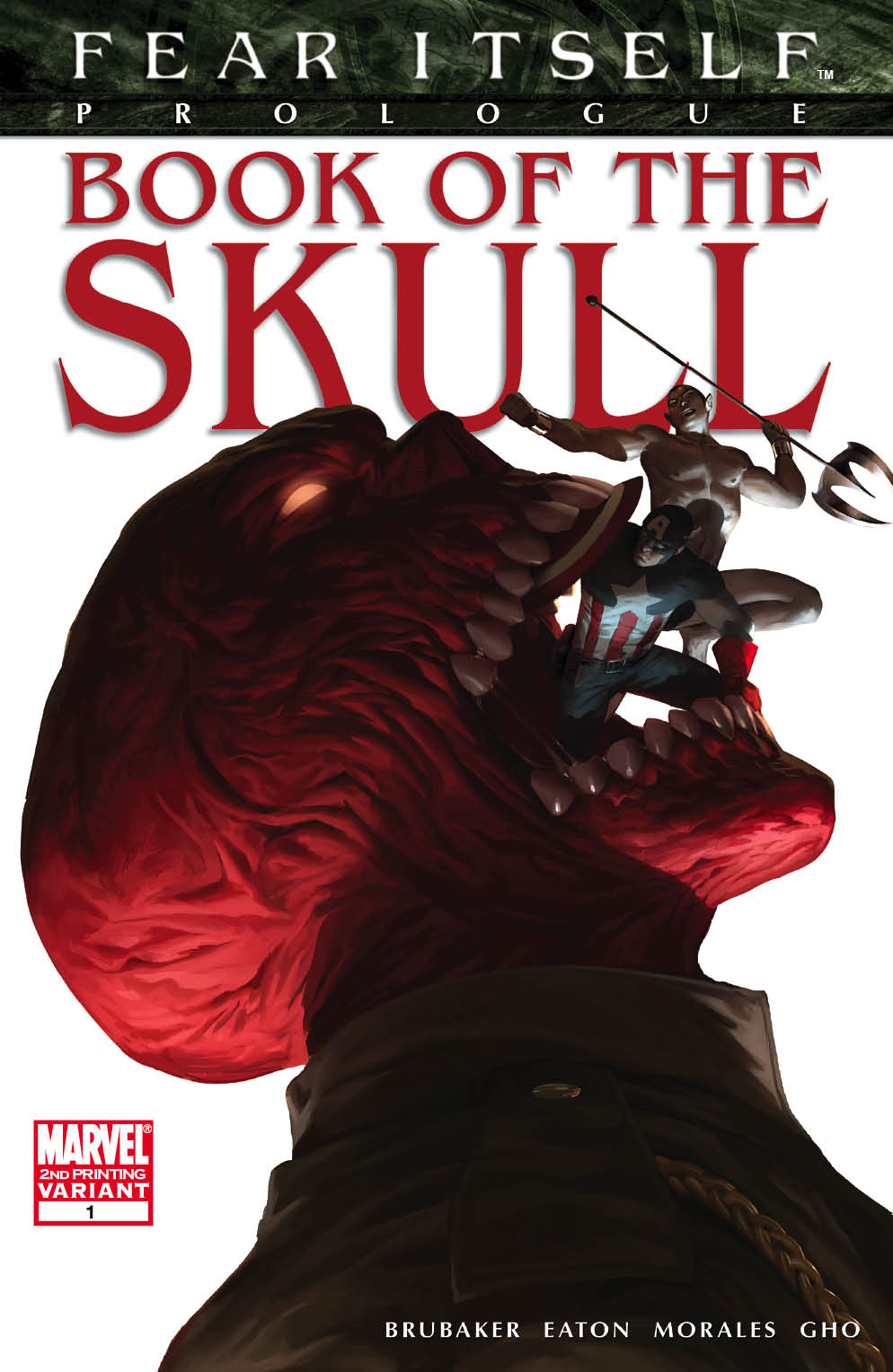 FEARITSELF_BOOKOFTHESKULL_1_Second FEAR ITSELF returns with two new printings