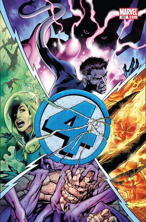 FF587_Cover SPOILER ALERT: Marvel reveals who dies in FANTASTIC FOUR #587