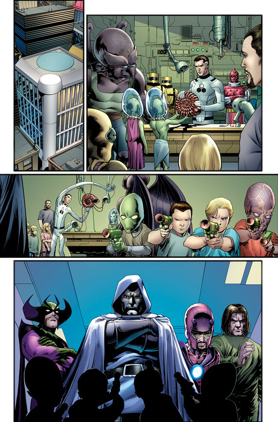 FF_5_Preview1 First Look at FF #5