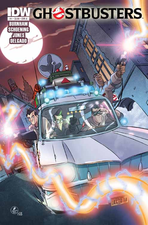 GB_01_coverA IDW announces all-new monthly GHOSTBUSTERS series