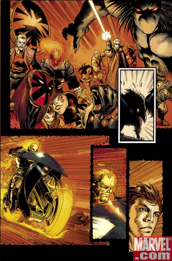 GRDannyKetch_01_Preview2 Ghost Rider: Danny Ketch #1 Preview