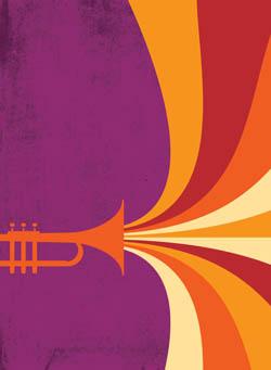 Gary_Scott_Beatty_Horn_Blast Beatty offers new, jazz-styled illustrations at Dreamstime