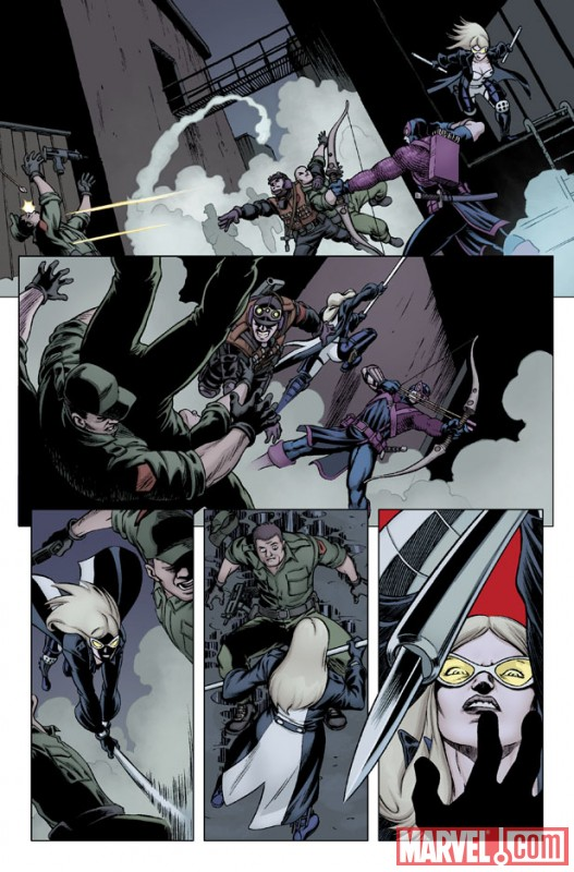 HEMB_3_PREVIEW3 First Look At HAWKEYE AND MOCKINGBIRD #3