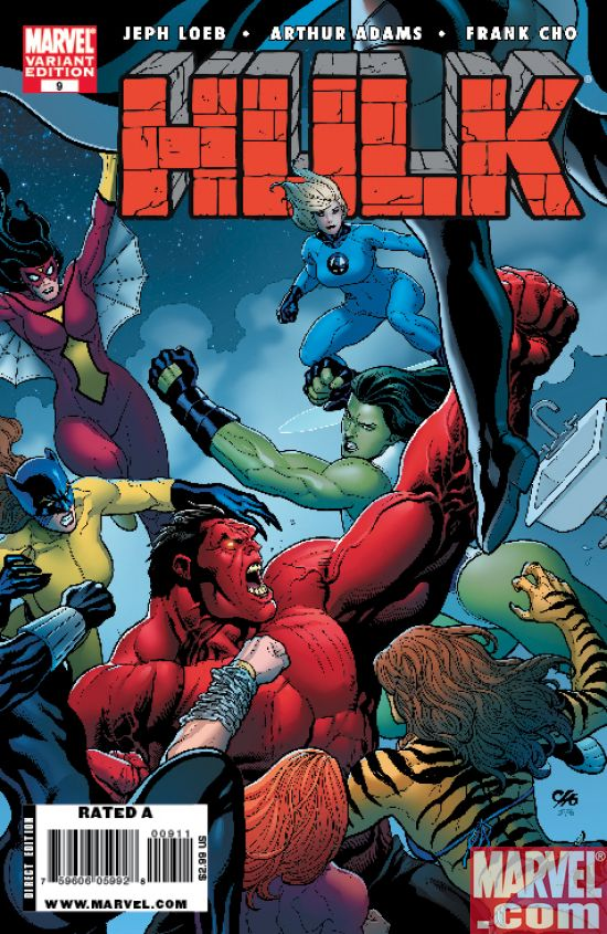HULK9COV2 Hulk and Superstar Jeph Loeb Continue To Smash And Sell-Out