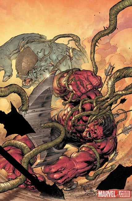HULK_34_Cover First Look at PLANET RED HULK