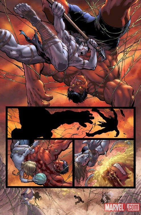 HULK_34_PREVIEW4 First Look at PLANET RED HULK