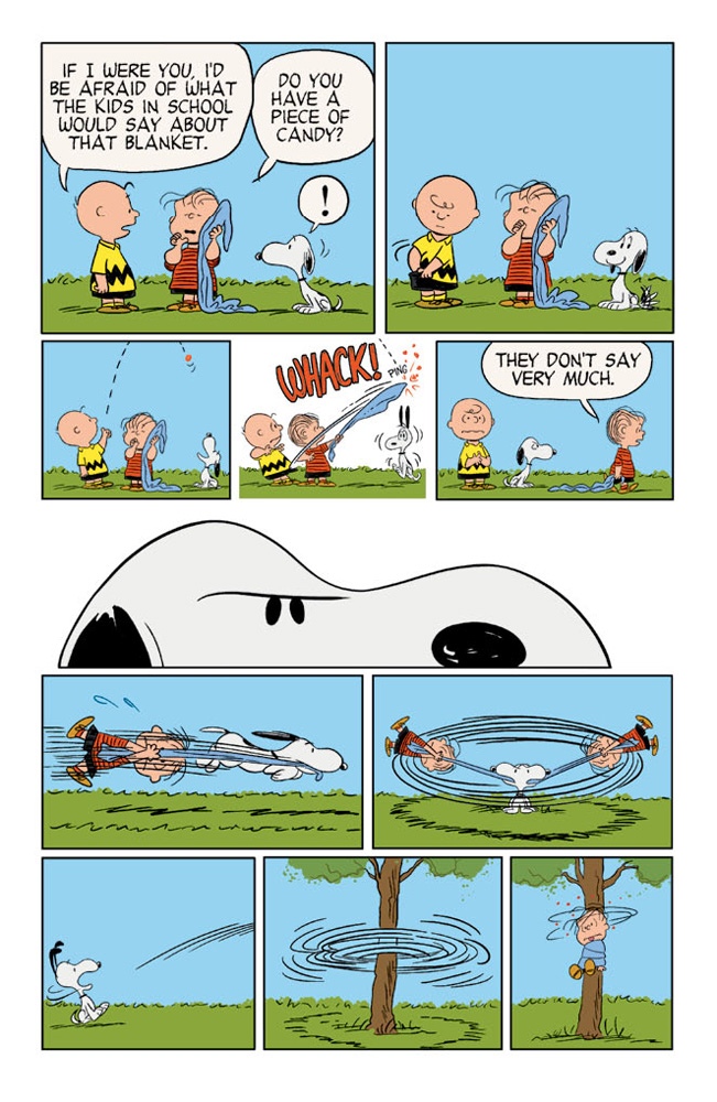 Happiness_is_a_Warm_Puppy_Charlie_Brown_Preview_Page_03 KABOOM! to release HAPPINESS IS A WARM BLANKET CHARLIE BROWN