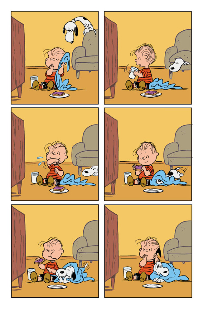 Happiness_is_a_Warm_Puppy_Charlie_Brown_Preview_Page_05 KABOOM! to release HAPPINESS IS A WARM BLANKET CHARLIE BROWN
