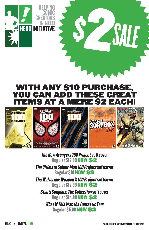 Hero_c2e2_sale Hero Initiative and Bill Willingham to attend C2E2 2012