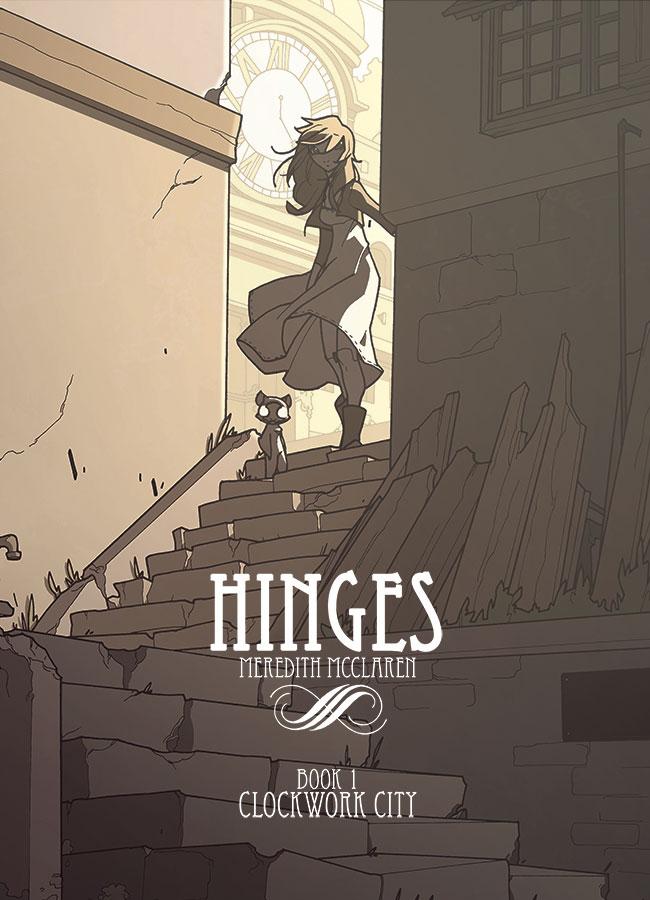 Hinges_01_1 Readers get wound up over HINGES BOOK ONE: CLOCKWORK CITY
