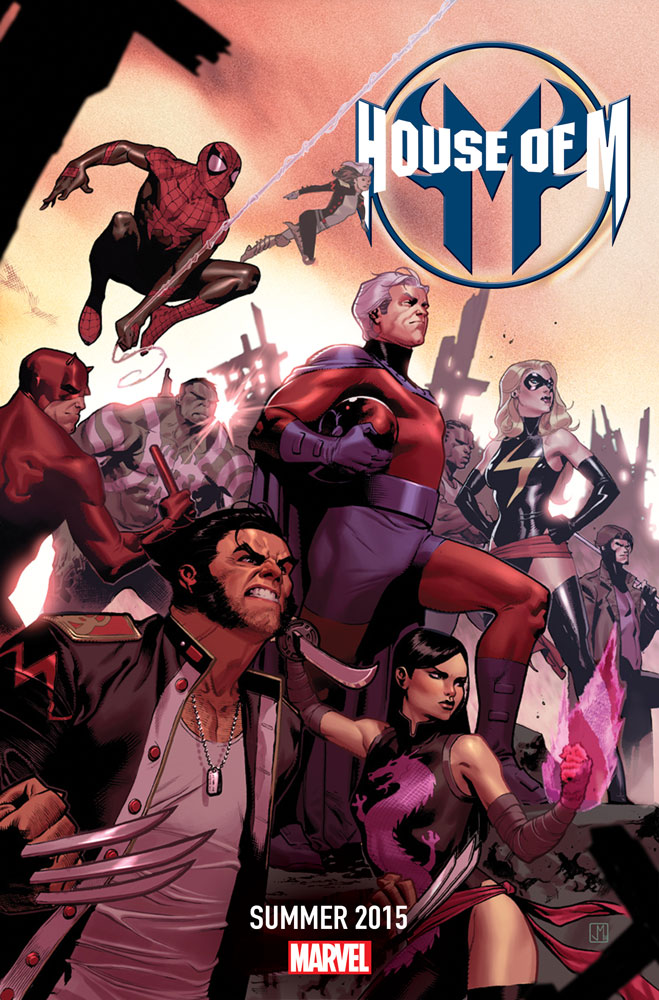 House_of_M_2015 A HOUSE OF M divided against itself cannot stand