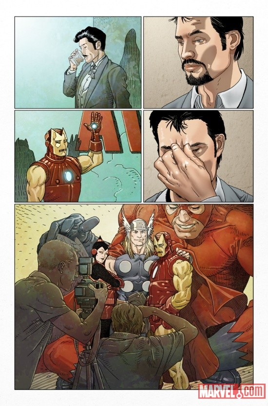 INVIRONMAN_500p1_Preview1 Marvel Point One soars with INVINCIBLE IRON MAN #500.1