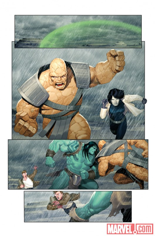 IncredibleHulk_604_Preview1 Preview of Incredible Hulk issue 604