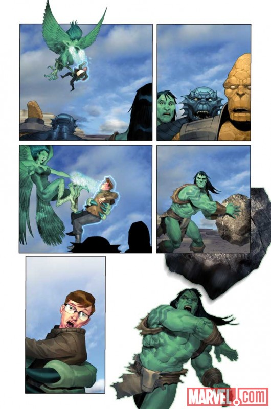 IncredibleHulk_604_Preview5 Preview of Incredible Hulk issue 604