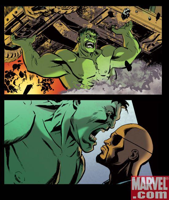 IncredibleHulk_FuryFiles Exclusive Movie Tie-In Comic Series For Marvel Digital Comics Unlimited
