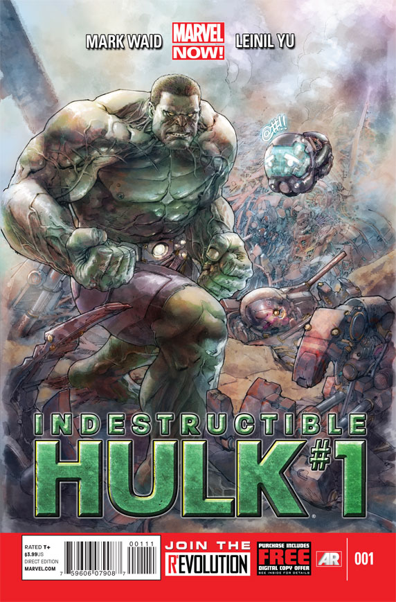 IndestructibleHulk_1_Cover Marvel NOW! unleashes THOR: GOD OF THUNDER #2 cover
