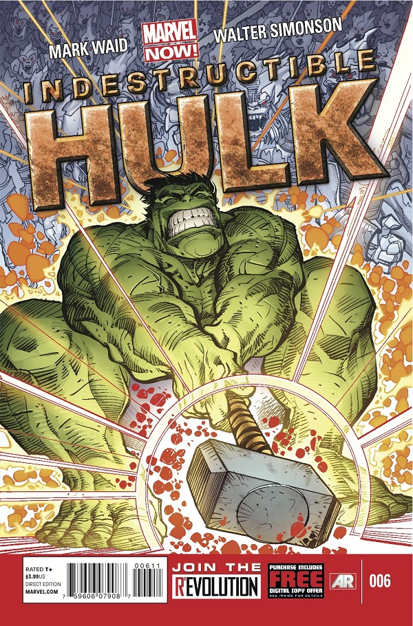 IndestructibleHulk_6_Cover Walter Simonson teams with Mark Waid on INDESTRUCTIBLE HULK