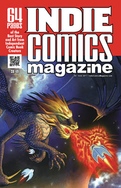 IndieComicsMagazine3Cover Faust artist Tim Vigil to return in INDIE COMICS MAGAZINE #3