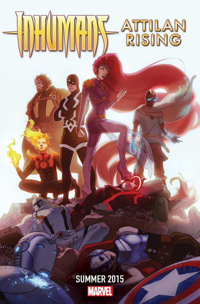 Inhumans_Attilan_Rising_2015 INHUMANS: ATTILAN RISING every time we fall