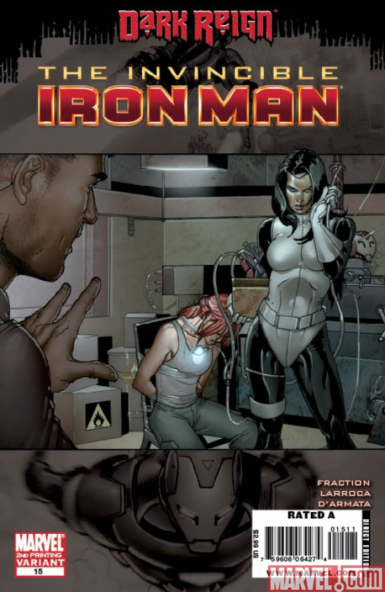 InvincibleIronMan_15_SecondPrintingVariant Invincible Iron Man #15 Sells Out,  Returns with a Second Printing