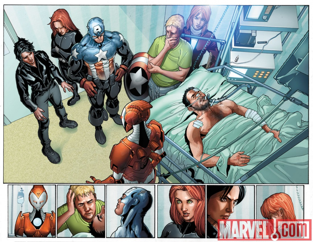 InvincibleIronMan_20_Preview1 Preview the status quo shattering Invincible Iron Man issue 20