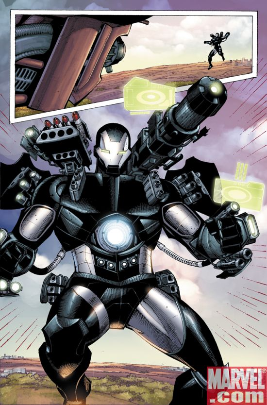 IronManDOS_33_Preview2 Iron Man Director Of SHIELD #33 Preview