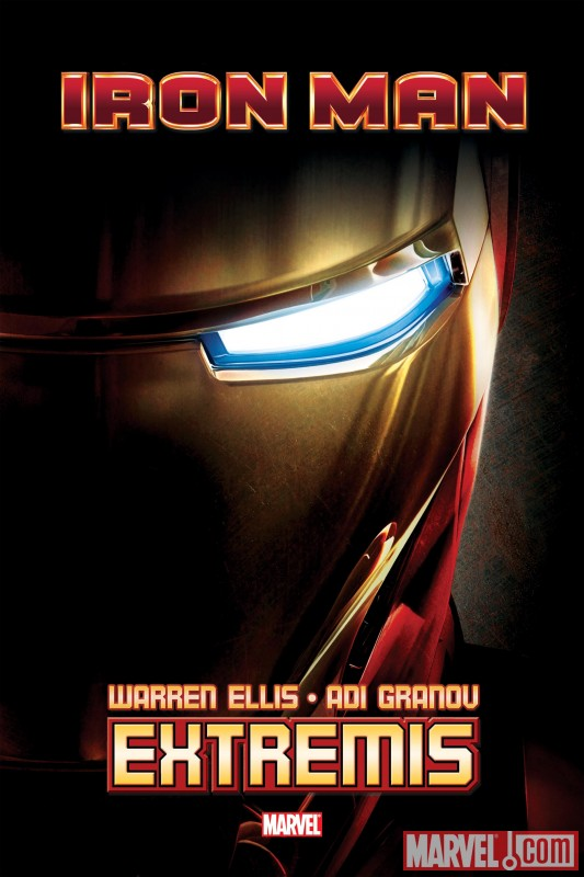 IronManExtremisHC_MovieCover Marvel unveils Granov's new Iron Man cover