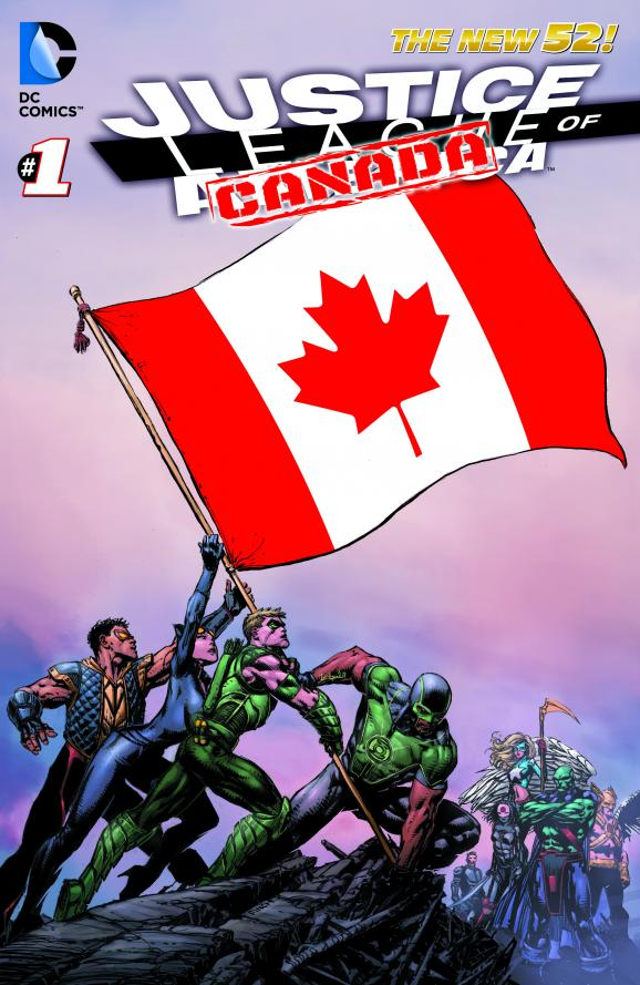 JLA_Cv1_Canada_R3 The JUSTICE LEAGUE moves to Canada