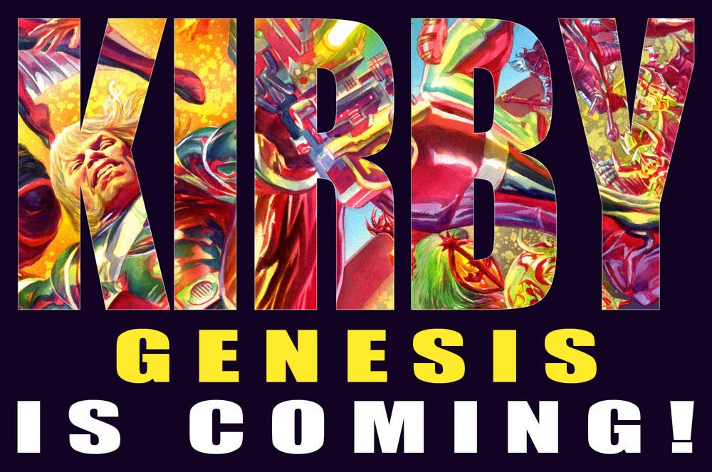 KirbyGenesisIsComingYellow2LR Busiek and Ross team up for KIRBY: GENESIS