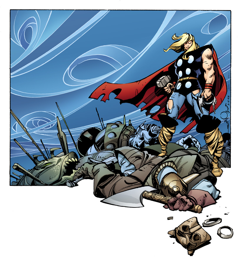 MIGHTYTHOR_1_SIMONSONVARIANT Walt Simonson to draw variant cover for THE MIGHTY THOR #1