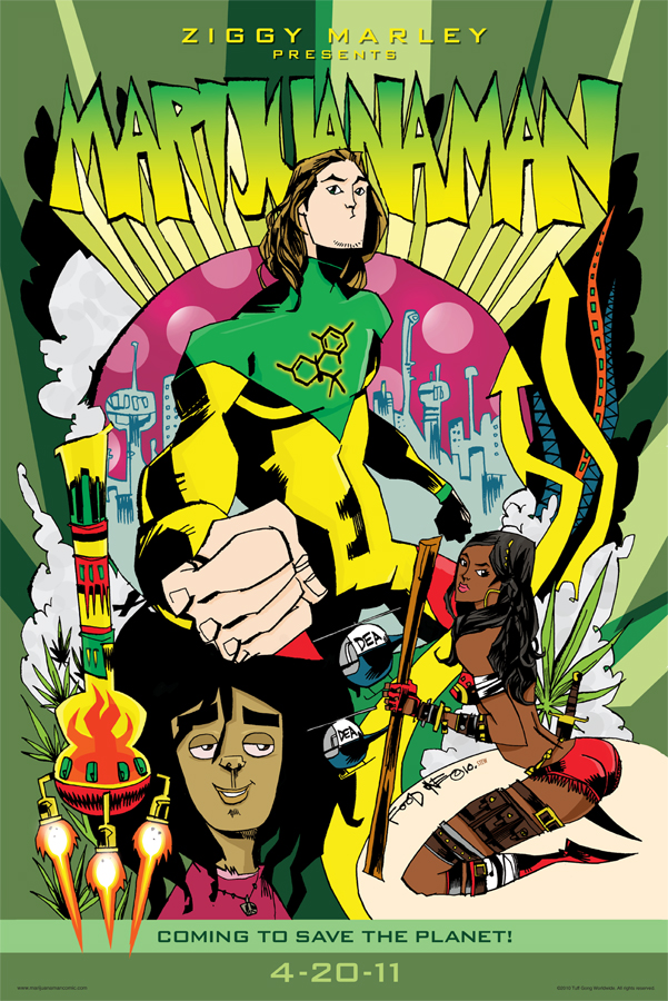 MMCOMICONPSTER6 Ziggy Marley to join Image Comics at SDCC 2010