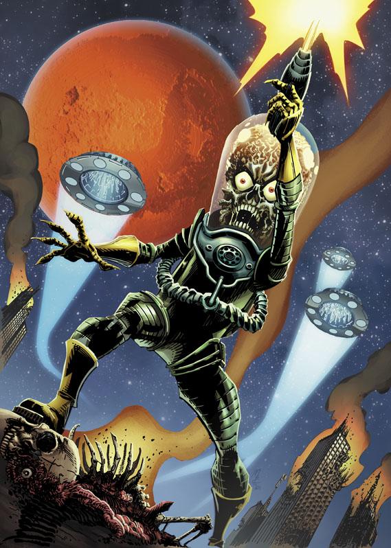 MarsAttacks_Cover John Layman and John McCrea to reimagine MARS ATTACKS in June