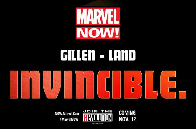 MarvelNOW_Gillen_Land_Invincible-650x428 The Lightning fast future of Marvel NOW!