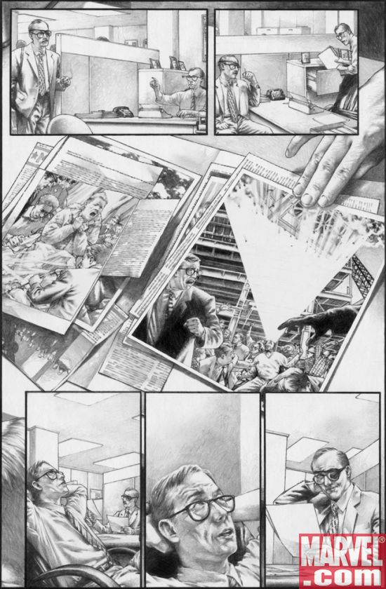 Marvels_EOTC_01_BWPreview2 Marvels Eye of The Camera #1 Preview