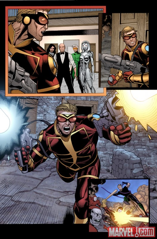 MightyAvengers_31_Preview1 Preview Mighty Avengers issue 31, featuring The Unspoken