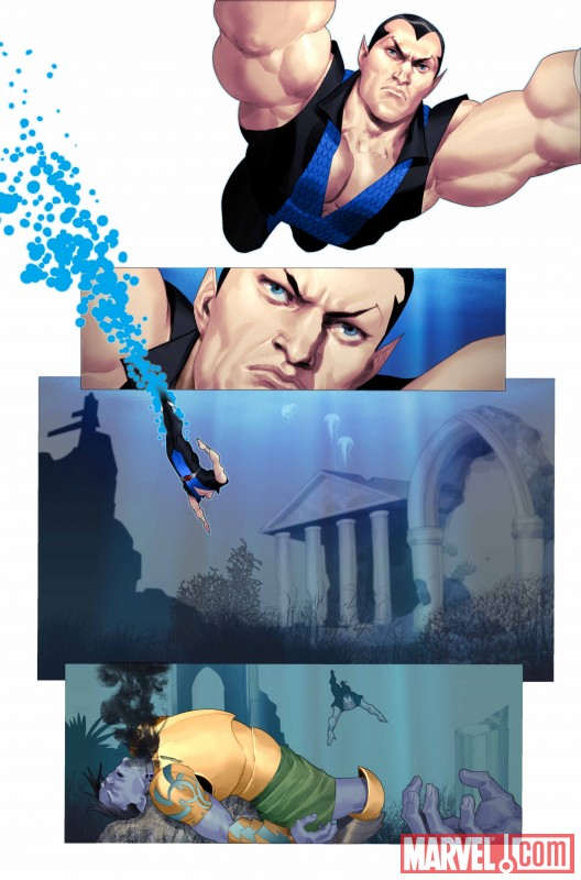 NAMORFM_1_Preview4 First Look At NAMOR: THE FIRST MUTANT #1
