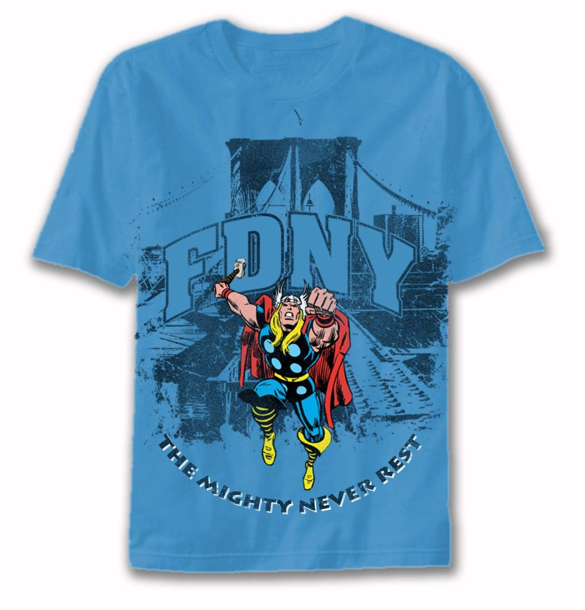 NMBSTRUKIDS Marvel launches NYPD and FDNY merchandise line