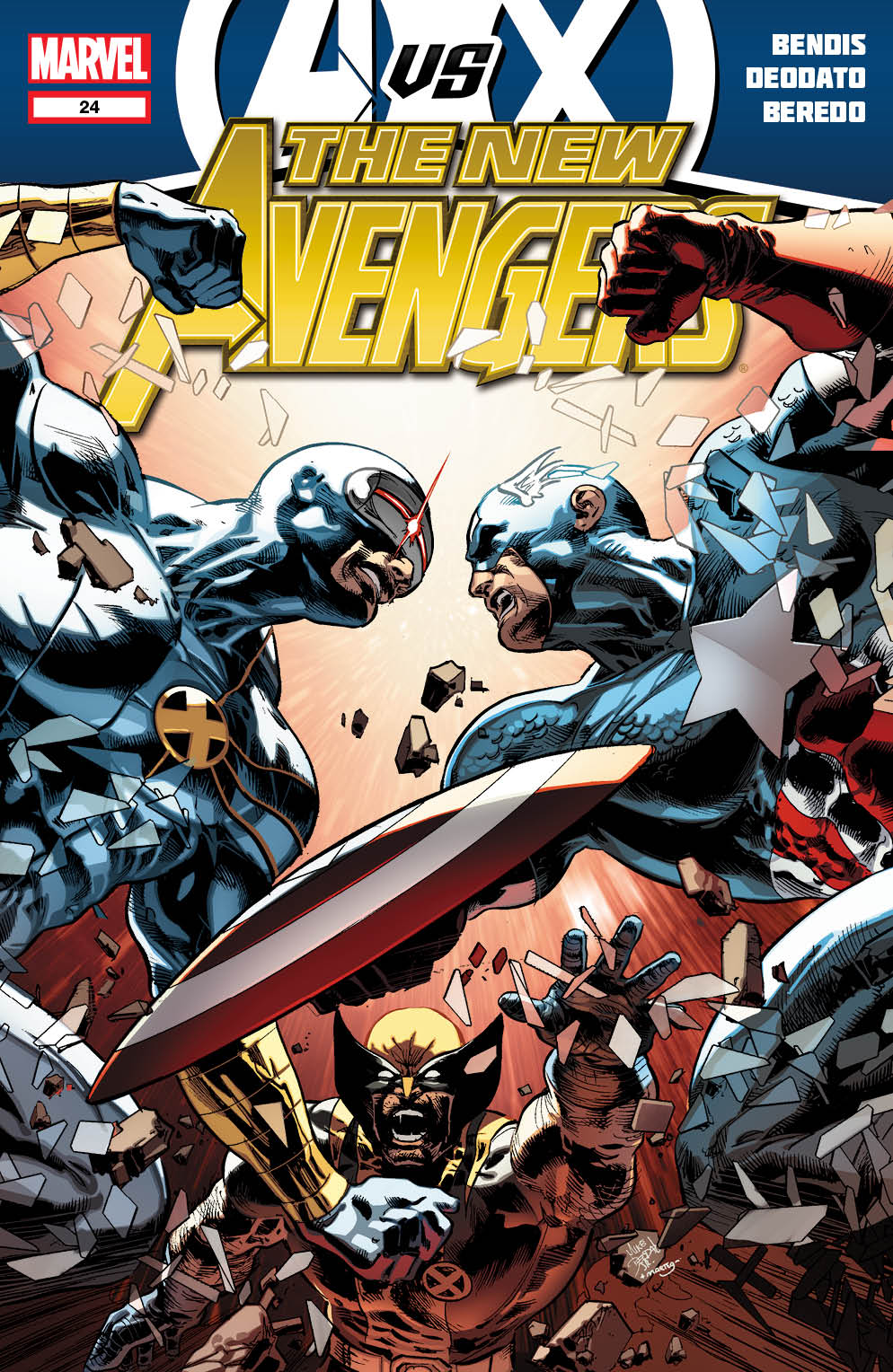 NewAvengers_24_Cover First Look at NEW AVENGERS #24