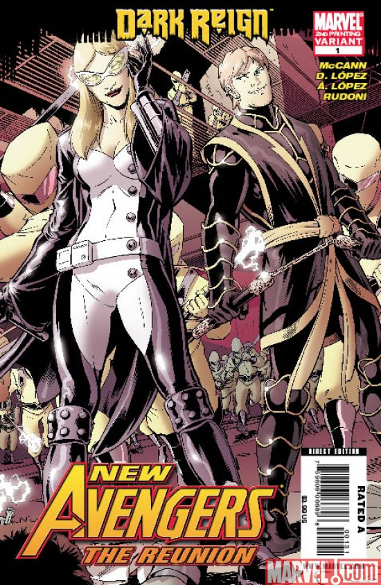 NewAvengers_TheReunion_01_SecondPrinting New Avengers Reunion #1 Sells Out And Returns with 2nd Printing