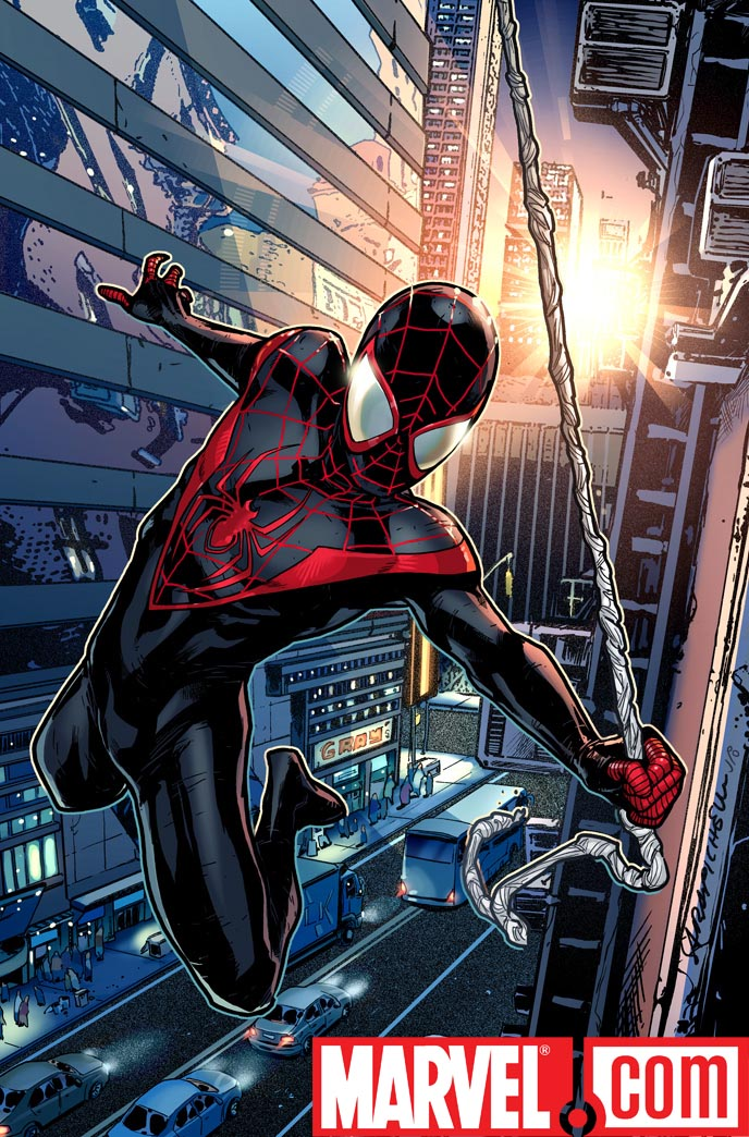 NewUltimateSpider-Man_PromoImage Marvel reveals new non-Peter Parker Ultimate Spider-Man