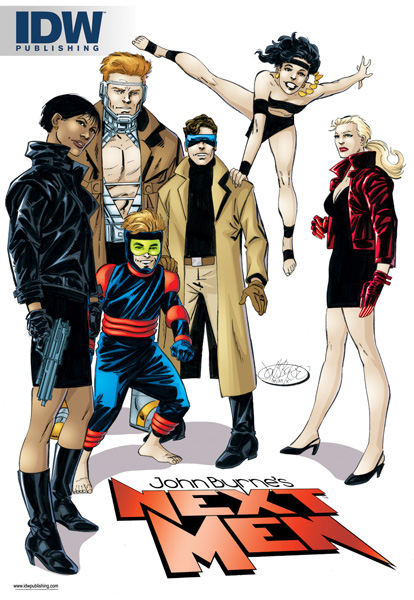 Next_Men_image IDW and John Byrne announce NEXT MEN to return this December