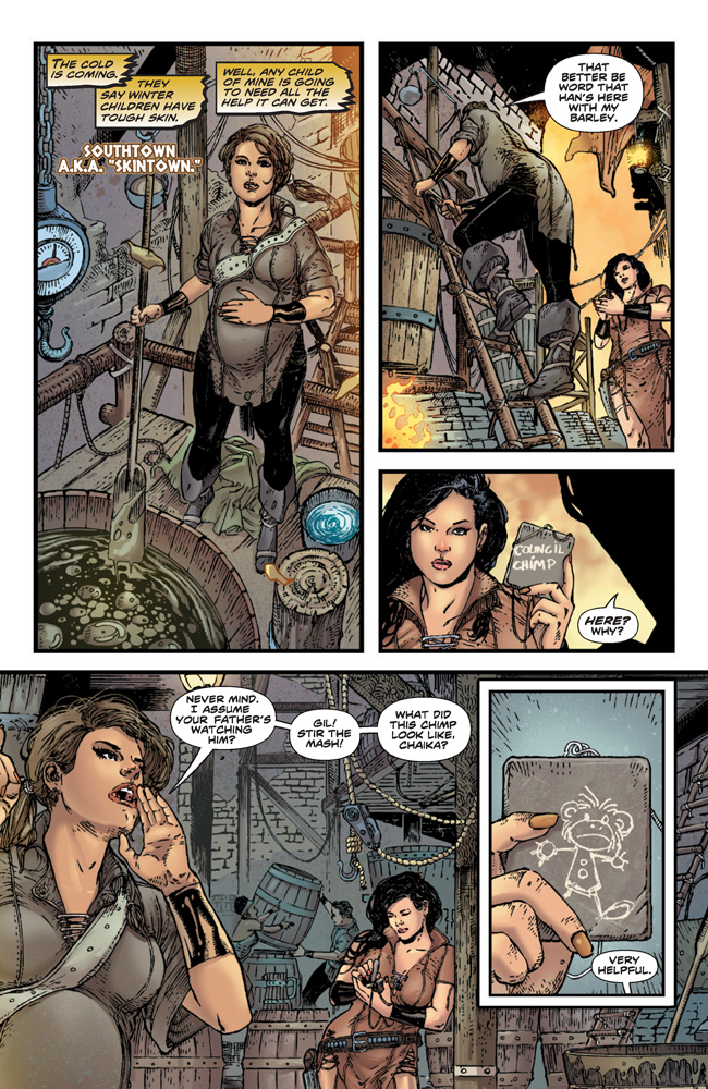 PlanetOfTheApes_01_Preview_Page_06 PLANET OF THE APES #1 earns 2nd printing